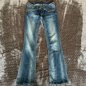 Rerock for Express Size 2 EUC Jean Thick Stitching